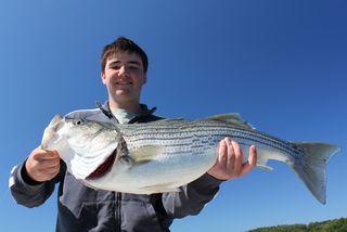 Cody with full fish