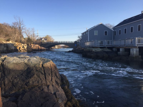 Cohasset Harbor Early Season Striped Bass Hot Spot